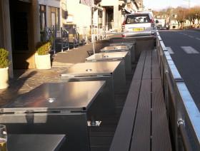 Terrasse amovible Restaurant Galva