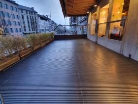 Terrasses café-restaurants