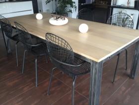 Last tweets about table bois et acier - Table design acier ...